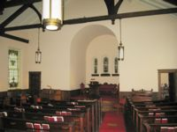 Red House Church Interior
